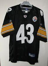 Pittsburgh Steelers #43 Troy Polamalu NFL Football Jersey Reebok size 48