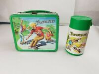 """Vintage 1977 """"The Skateboarder"""" Lunch Box & Thermos"""