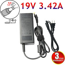19V 3.42A 65W AC Adapter Charger for Gateway NE56R10U NE71B06u NE56R37u NE56R31u