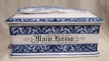 Large Villeroy & Boch Flow Blue Herring Box