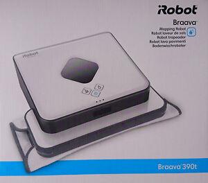 iRobot Braava 390t Boden-Wischroboter, Nass-Trocken-Wischer, Mopping Robot