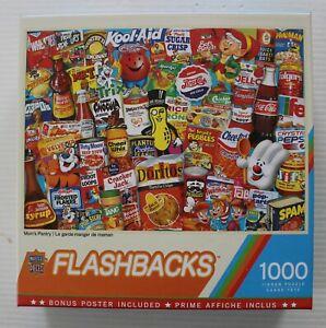 Mom's Pantry - Masterpieces Flashbacks 1000 Piece Jigsaw Puzzle
