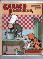 RABIER. Caraco plongeur. Tallandier 1934.  Album in-4°. Bel état