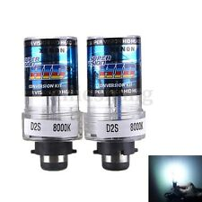 2X 35W D2S/D2C Xenon Car Replacement HID White Headlight Light Lamp Bulbs 8000K