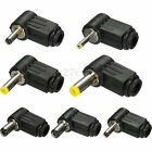 Right Angle Male Plug Jack DC Power Connector 0.7/1.1/1.3/1.7/2.1/2.5mm Laptop