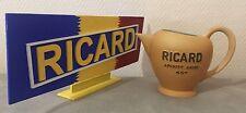 ••• Rare Pichet Ricard Export Boule 3 Lignes État Neuf •••