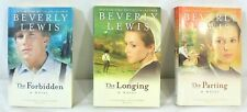 Courtship of Nellie Fisher Trilogy by Beverly Lewis Parting Longing Forbidden PB