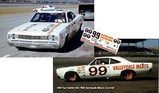 CD_1510 #99 Paul Goldsmith '68 Valleydale Meats Dodge   1:64 decals   OVERSTOCK