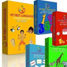 My First Language Flash Cards Gift Set - ENGLISH - SHONA