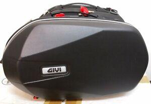GIVI 3D600 COPPIA BORSE LATERALI EASYLOCK SEMIRIGIDE MOTO
