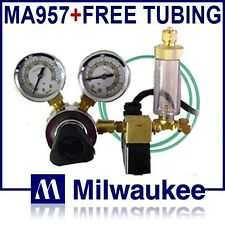 MA957 CO2 Regulator/Solenoid/Bubble Counter MA 957 Milwaukee Instruments