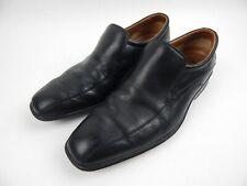 Clarks Flexlight Black Leather Loafers Men's sz 7.5 M