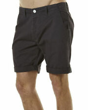 Rusty Leather Shorts for Men