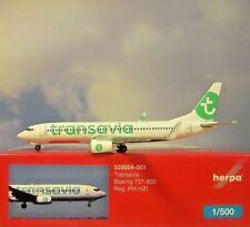 Herpa Wings 1:500 Boeing 737-800 Transavia  PH-HZI  528054-001 Modellairport500