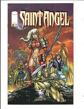 SAINT ANGEL / DEITY # 2 (Image Comics, FLIP BOOK, OCT 2000), FN/VF