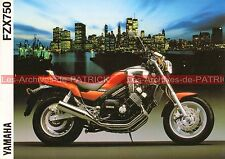 YAMAHA FZX 750 1988-1991 : Brochure - Dépliant - Publicité Moto