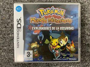 BOX ONLY Pokemon Mundo Misterioso - Nintendo DS Box Only ESP SPANISH España