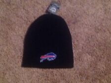 Buffalo Bills Black Officially Licensed NFL Beanie Hat-BNWT's