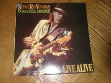 STEVIE RAY VAUGHAN / LIVE ALIVE ~ First Press Precision Epic E2 40511 ~ NR MINT