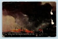 Ocean Park, CA - AUDITORIUM VIEW - FIRE DISASTER POSTCARD - #1165 - M3