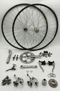 Shimano Dura Ace 7400 7401 7-Speed 13-Piece Gruppo Group Build Kit Mavic Wheels