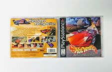 Case & Manual Instruction Booklet Hot Wheels Turbo Racing Sony PlayStation 1 PS1
