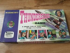 Thunderbirds board game 1966 by Waddingtons rare and collectable