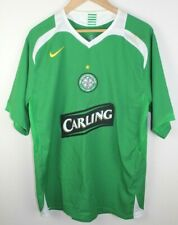 Vintage Nike Celtic Fc Soccer Football Jersey Size Medium Carling Embroidered