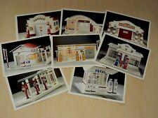 Lot 8 Carte Postale Station Service Garage Pompe Essence Jouet Toys Bidon Auto 3