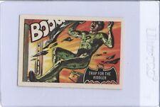 "1966 A&BC BATMAN ""Trap for the Riddler"" #45 Vintage Superhero Card"
