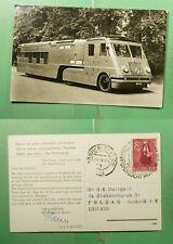 DR WHO 1938 NETHERLANDS ARNHEM SLOGAN CANCEL MOBILE POST POSTCARD TO GB g20777