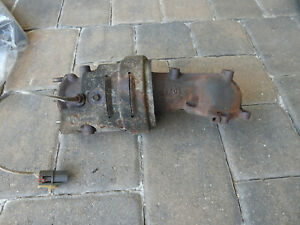 '91 Nissan Figaro Catalytic Converter (CAT) w/ Heat Shield ~ Good Used Condition