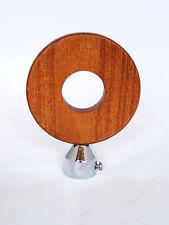 19mm Polished Chrome Silver Oak Polo Round Shape Curtain Pole Finials Ends x 2