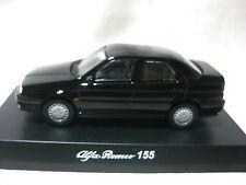 1:64 Kyosho Alfa Romeo 155 Black Diecast Model Car