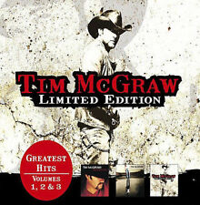 Greatest Hits, Vols. 1-3: Limited Edition [Slipcase] by Tim McGraw (CD, Feb-2008