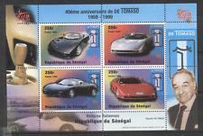 Senegal 1998 Cars 4v sht ref:s2900