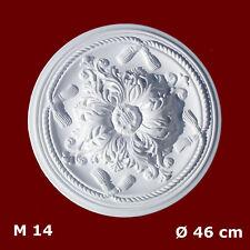 Rosetten Stuck Zierleisten Deckenrosette  46 cm  M14