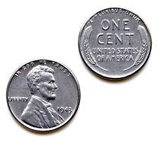 Genuine 1943 Lincoln Steel Penny Cufflinks