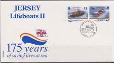 GB - JERSEY 1999 Lifeboats Series II/175 Years R.N.L.I. Anniv SG 890/1 FDC SHIPS