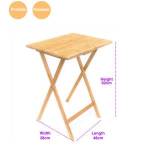 Folding Bedside Table /TV Tray/ Reading Desk/ SnackDesk