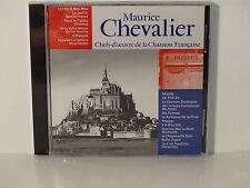 CD ALBUM Chefs d oeuvre de la chanson francaise MAURICE CHEVALIER CF 012 NEUF