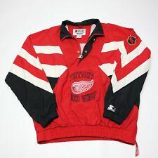 Starter Center Ice Collection Men's XL Detroit Red Wings NHL Windbreaker Jacket