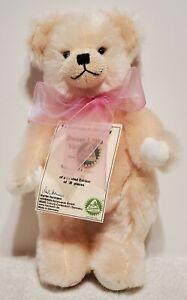 Hermann - Sweet Little Valentine Bear, LE of 50, Light Peach Mohair, TA w/COA
