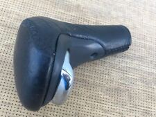Range Rover P38 Stitched  Auto Gear Lever Knob in Black AWR4996PMA LEATHER CHROM