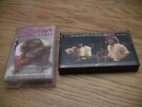 Rod Stewart Cassette Lot: Unplugged and Out of Order