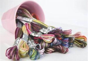 DMC Coloris 6-strand embroidery cotton Floss cross stitch 8 yds U-PICK 4500-4522