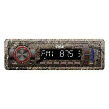 Pyle Stereo Radio Head unit Receiver, Bluetooth Wireless Streaming, Hunting Camo