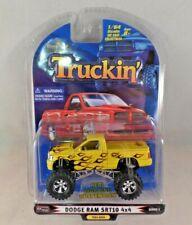 1 Badd Ride Truckin' Dodge Ram SRT10 4X4 NIP Yellow TK64-0656 1:64 Series 5