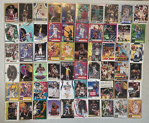 X60 Mixed Lot Rookies Inserts Kevin Durant Embiid Prizm Silver Rookies