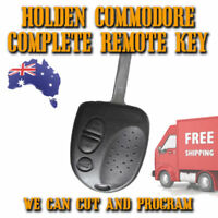 Holden Commodore-Clubsport GENUINE Key - VS-VR-VT-VX-VY-VZ-WM - Includes Cutting